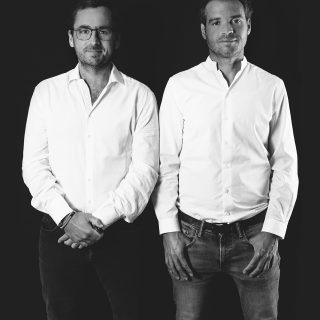 Julien Godin et Sébastien Duclos